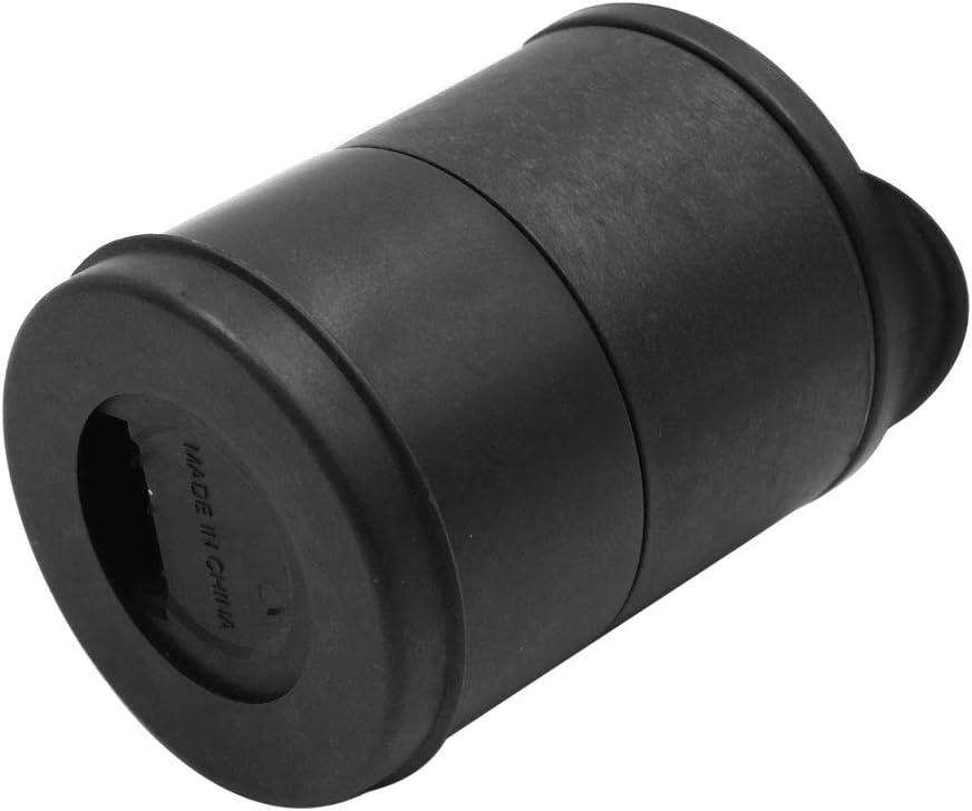 Zylinderform sourcing map Auto-Aschenbecher ABS-Kunststoff Schwarz