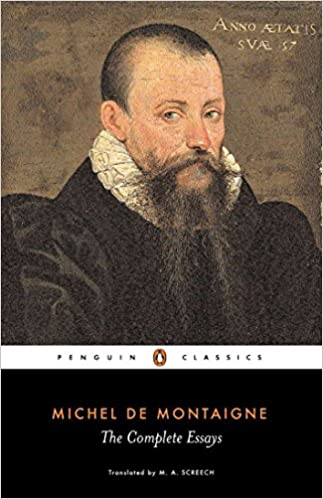 Michel de montaigne the complete essays penguin classics michel