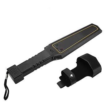 Acogedor Detector de Metales Pinpointer Portátil, Detector de Metales de Mano Altamente Sensible para el Control de Seguridad de Estaciones de ferrocarril ...