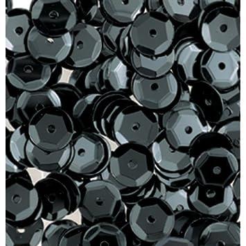 gew/ölbt 4000St/ück bastelkoerble/® Pailletten in  Gelb 6mm