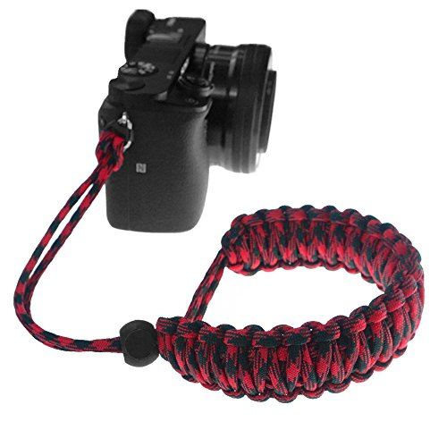 FoRapid Braided 550 Paracord Adjustable  - Black Compact System Camera Shopping Results
