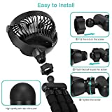 Portable Handheld Fan, 2600mAh Battery Powered