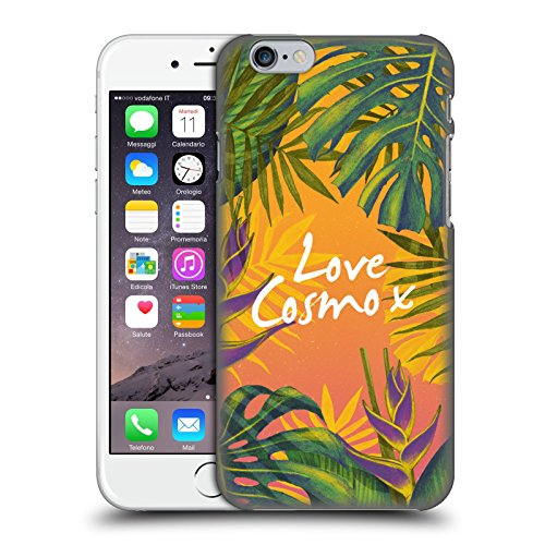 Official Cosmopolitan Bird Of Paradise Tropical Hard Back Case for Apple iPhone 6 / 6s