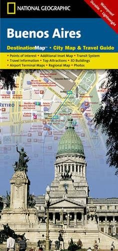 Buenos Aires (National Geographic Destination City Map)