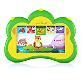 Kids Tablet, B.B.PAW English and Spanish Learning & Training Machine for Pre-school Students, Green