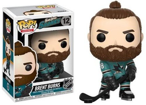 Funko NHL Brent Burns (Home Jersey) Pop Vinyl Figure