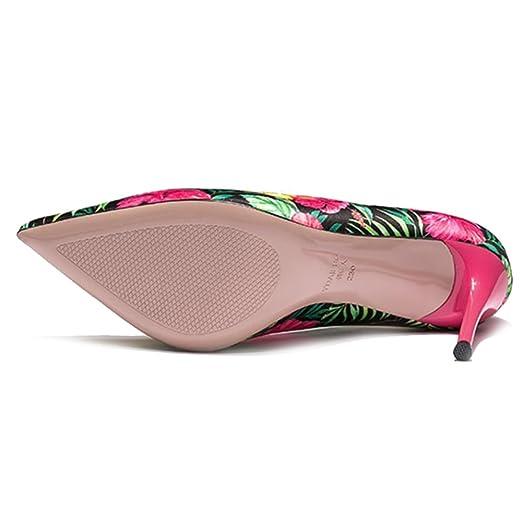 Yra Zapatos De Mujer Primavera Otoño Nuevos Consejos Wild Vintage Tacones  Altos Zapatos De Mujer De Tacón Fino Para Fiesta 49f4db4e15c0