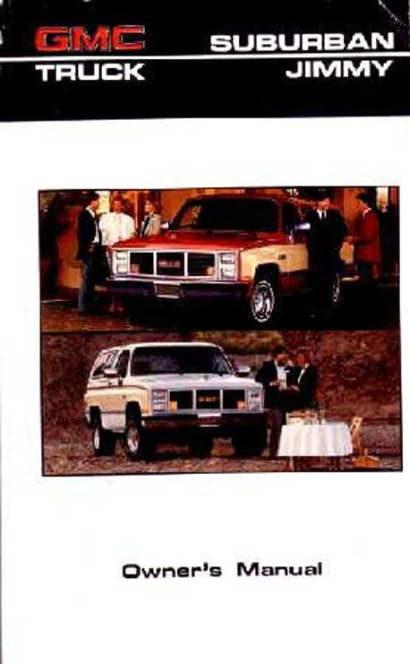 amazon com bishko automotive literature 1986 gmc jimmy suburban c k rh amazon com 1998 GMC Jimmy 1989 GMC Jimmy
