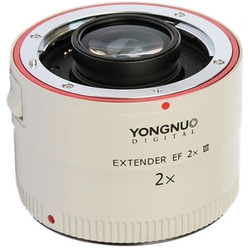 Yongnuo Extender EF 2X III (Teleconverter) (Yongnuo Extender Ef 1-4 X Iii Teleconverter)
