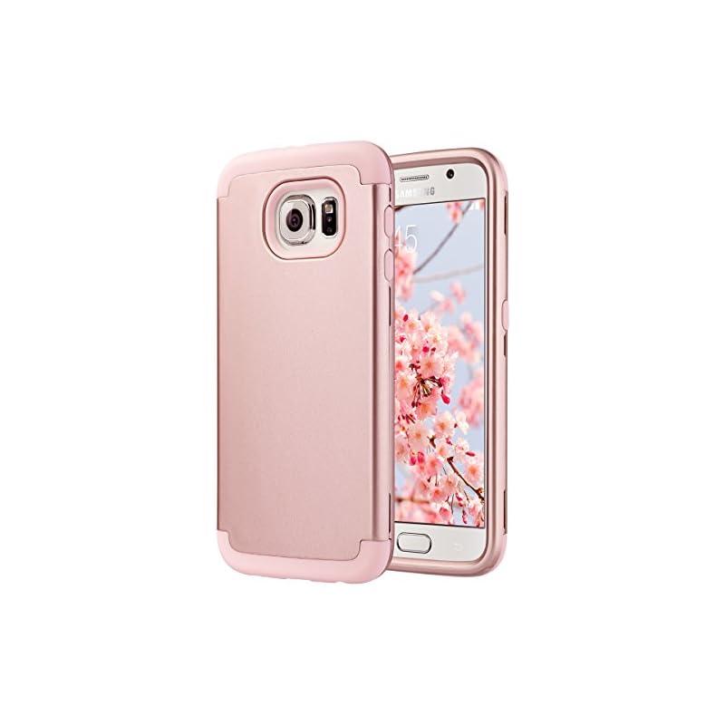 ULAK Galaxy S6 Case, S6 Case, Shock Resi