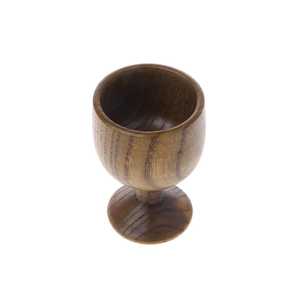 SimpleLif Natural Jujube Wooden Mugs Travel Coffee Tea Cup Milk Wine Beer Goblet Home Bar