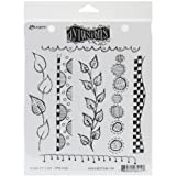 Ranger Dyan Reaveley's Dylusions Cling Stamp Collections, 8.5 by 7-Inch, Around The Edge