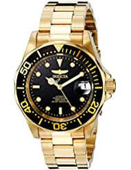 Invicta Mens 8929 Pro Diver Collection Automatic Gold-Tone Watch