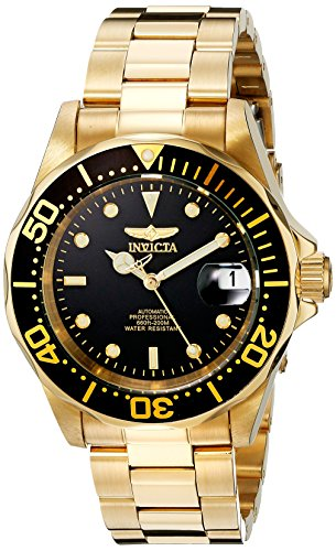 Invicta Men's 8929 Pro Diver Collection Automatic Gold-Tone Watch ()