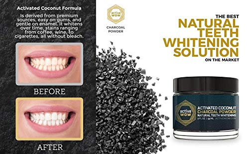 Large Product Image of Active Wow Teeth Whitening Charcoal Powder Natural