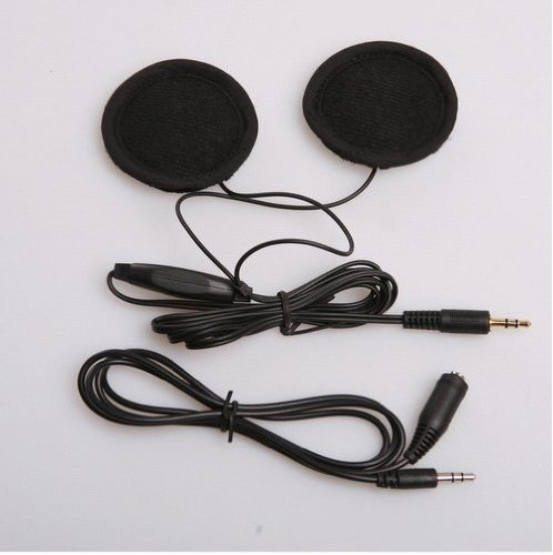 Buy Helmet Speakers with Volume Control for Motorcycle, GPS Navigation and Mp3 Ipod