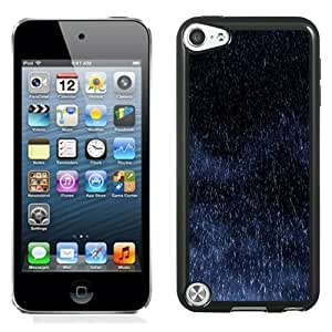 Fashionable Custom Designed iPod Touch 5 Phone Case With Rain Drops Fall_Black Phone Case