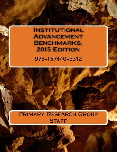Institutional Advancement Benchmarks, 2015 Edition