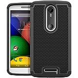 Moto X Play Case, AERO ARMOR Protective Case for Motorola Moto X Play - Black (Fits Motorola Moto X Play 2015 Version Only)