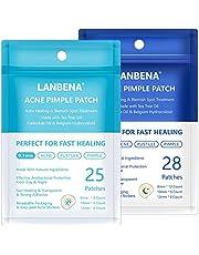 Parches de acné, LANBENA Tratamiento de acné, parches para eliminar el acné y curar el tratamiento de espinillas para absorber las secreciones tratamiento de manchas de la piel con aceite de árbol de té