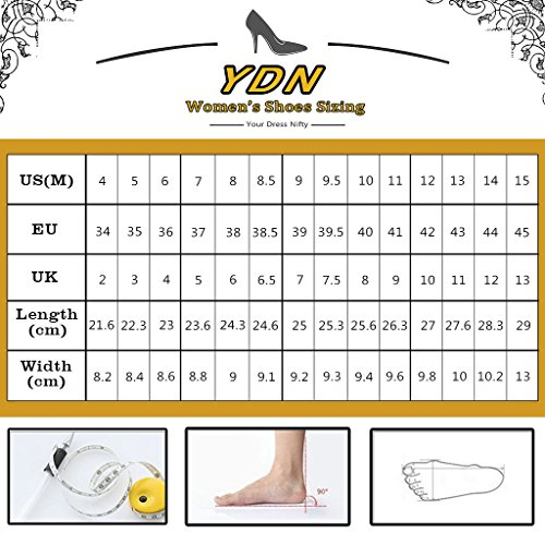 YDN on Slip Low Bowknot Shoes Clog Heel Women Round Slippers Flats Summer Black Toe Slide rxqrZw0