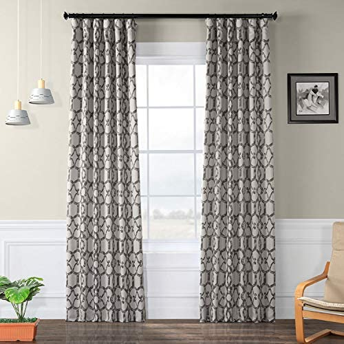 HPD Half Price Drapes BOCH-KC16078-84 Blackout Room Darkening Curtain 1 Panel - the best window curtain panel for the money