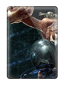 High Grade Ramirez Flexible Tpu Case For Ipad Air - Alien Sci Fi People Sci Fi
