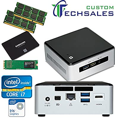 Intel NUC NUC5I7RYH Mini PC i7-5557U, 500GB Samsung SSD, 1TB Solid State Drive (SSD) 32GB RAM, Assembed and Tested