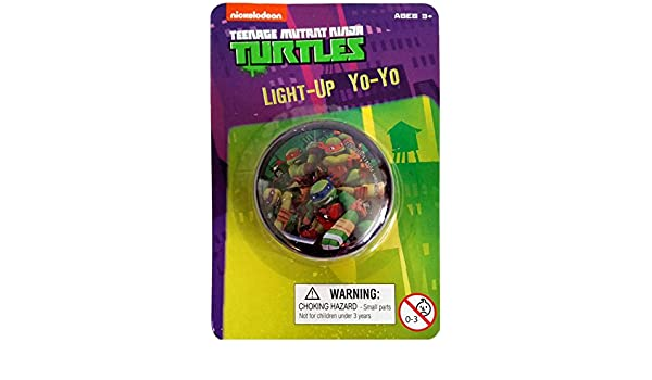 Amazon.com: Teenage Mutant Ninja Turtle - Light-up Yo-yo ...