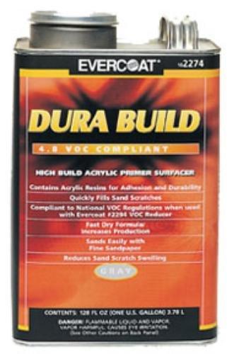 Fibre Glass-Evercoat Dura Build, 1-Quart (Gray) (FIB-2273)