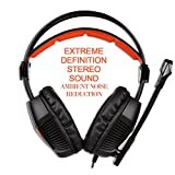 SADES-Stereo-Gaming-Headset-YKS-SA921-Lightweight-Over-Ear-Computer-Headphones-35mm-Jack-with-Mic-for-Laptop-PCMACPS4XBOX-ONEPhones-With-Splitter-Adapter