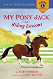 My Pony Jack at Riding Lessons (Easy-to-Read,Viking)