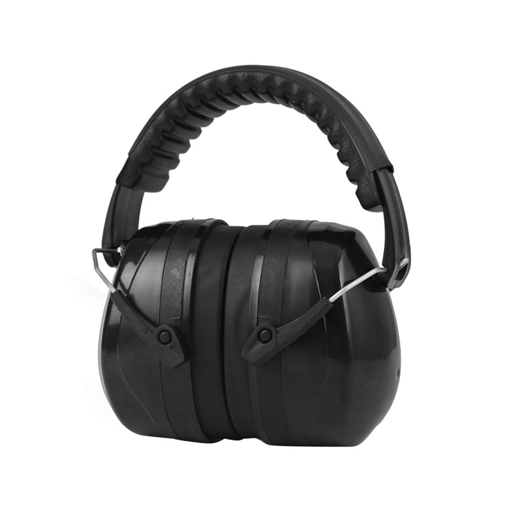 Soundproof Earmuffs Safe Ear Protection Earmuffs For Adults And Children 35dB SNR Comfortable Safety Earmuffs Hearing Protector With Folding Headband For Shooting, Construction, Reading Or Garden Work by XUROM-Tools & Home Improvement