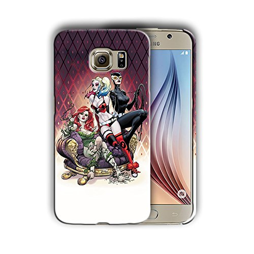 Hard Case Cover with Comics design for Samsung Galaxy S5 (harley8) (Poison Ivy Galaxy S5 Case)