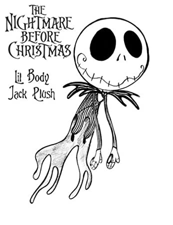 neca nightmare before christmas jack lil body - Nightmare Before Christmas Coloring Book