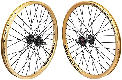 Gold Box 20 inch Alloy BMX Wheels