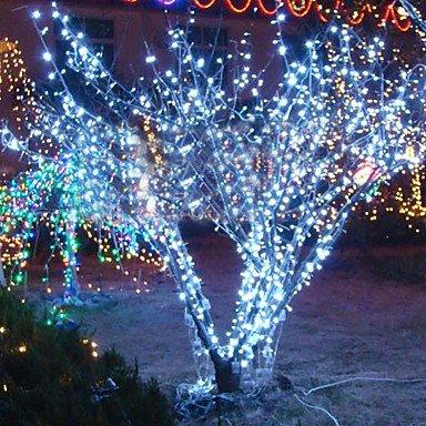 10M 6W 100-LED White Light String Lamp For Halloween Festival Decoration (110/220V) UK Plug