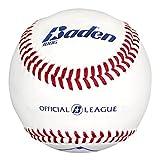 Baden 1BBG League Leather Baseball (Dozen), Official