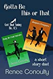Jump into the Got That Swing series with a duet of short stories set before book one, Don't Mean a Thing. Meet Macie and Matt before they meet!Jeepers CreepersCoerced by a coworker, Karen steps away from comfort and takes her first swing dance lesson...