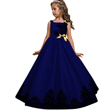 f033af28649 TUDUZ 2018 Newest Fashion Flower Girl Princess Dress Kid Party Wedding  Pageant Formal Tutu Dresses Clothes  Amazon.co.uk  Clothing