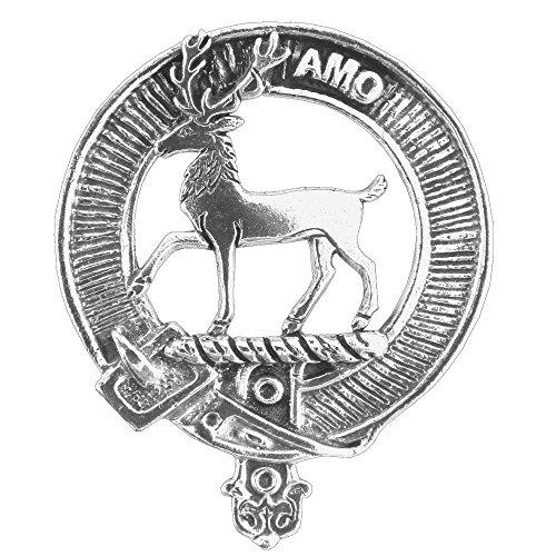 - Scott Clan Crest Scottish Cap Badge