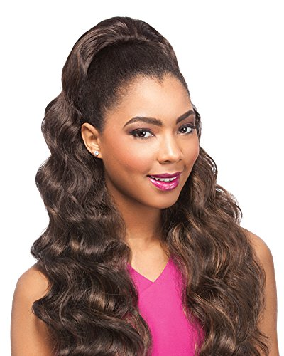Drawstring Synthetic (LOVELIGHT (1B Off Black) - Sensationnel Instant Pony Synthetic Drawstring Ponytail)