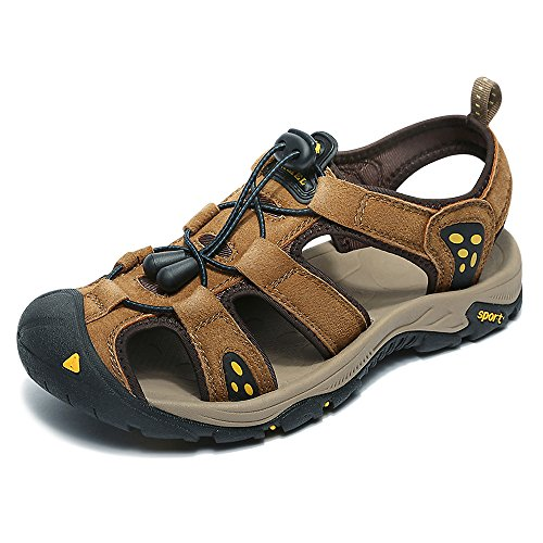 Camel Athletic Sandals for Men Fisherman Sandals Breathable Sport Sandals Beach Casual Strap Sandal Outdoor Shoes for Boys