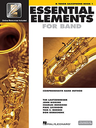 Essential Elements for Band - Bb Tenor Saxophone Book 1 with EEi