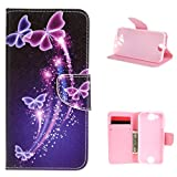 For Acer Liquid Jade Z case , ivencase flip cover Bling Silicone Magnetic Closure Wallet PU Leather [Card Slot] Stand Slim Fit Acer Liquid Jade Z 5.0