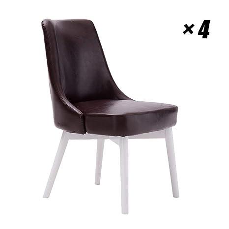 HhGold Sedie da Salotto Moderne Sedia da Pranzo in Legno Sedia da ...
