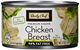 Daily Chef All Natural Chicken Breast in Water, 13 oz, 5 Count