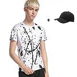 Ularmo Men Boy Summer Cotton Tees Shirt Short Sleeve Star Printed T-Shirt