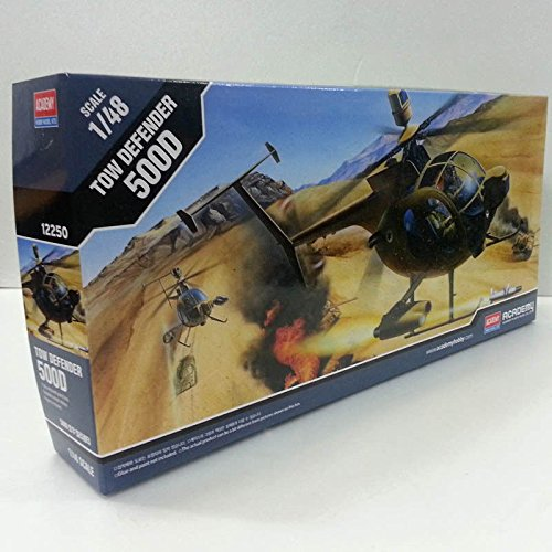 Academy 1/48 Plastic Model Kit Tow Defender 500D Hughes Helicopter 12250 NIB /item# G4W8B-48Q51207
