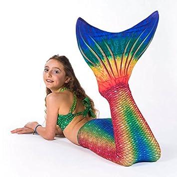 Sun Tails Sirena Juego de Aletas Disfraz Seven Seas Mono Aletas ...